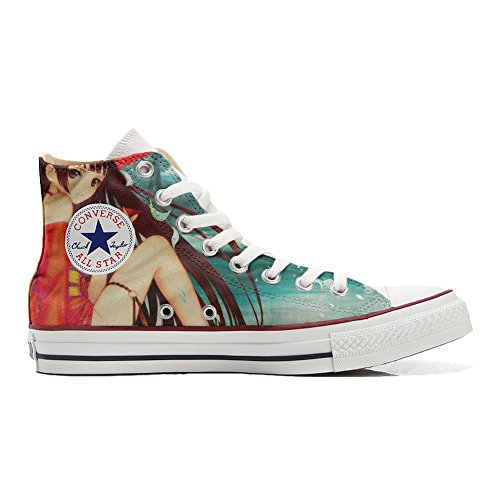 Converse All Star Zapatos Personalizados Unisex (Producto Artesano) Japan Fantasy