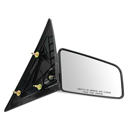 Gmc S15 Pickup Mirror - 3x5 Manual Mirror RH Right Passenger Side for GMC S-15 Chevy S10 Pickup Truck