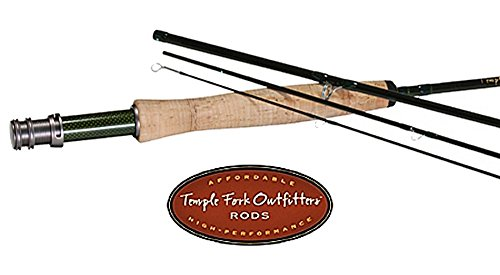 Temple Fork Outfitters BVK 5 Wt. 9' 4 Piece Fly Rod (Wt Rod Fly Piece 4)