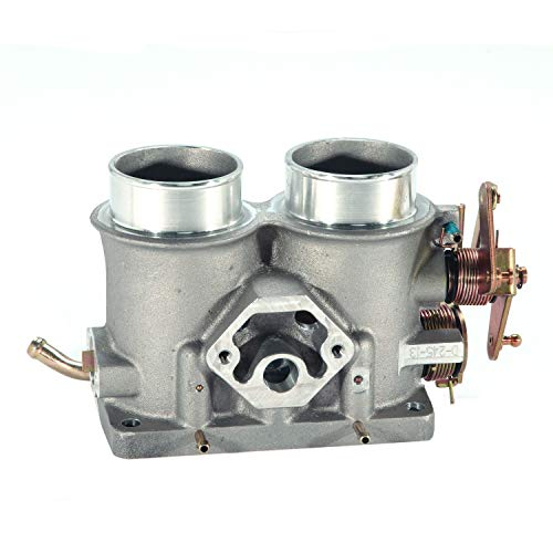 (BBK Performance 3501 Twin 56mm Throttle Body - High Flow Power Plus Series For Ford F Series Truck And SUV 302, 351)