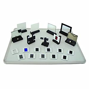 3B Scientific 32-Piece Equipment Set, For Wave Optics with Laser