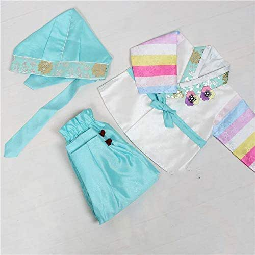 9e139461e Amazon.com  Korean Traditional Hanbok for Baby Boy Girl Birthday ...