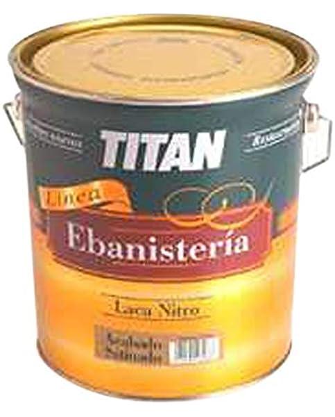 TITAN - Laca Nitro Satinado Titan 750 Ml: Amazon.es: Bricolaje ...