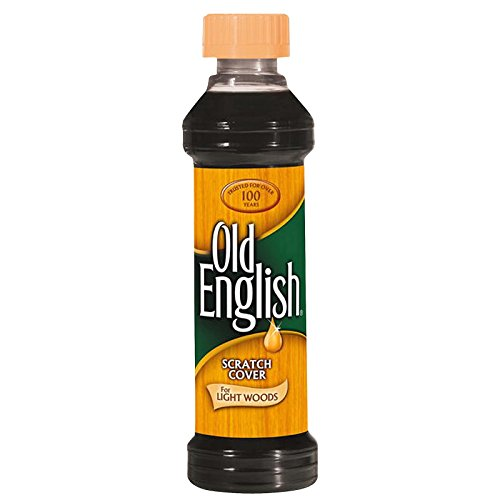 Old English Scratch Cover Polish For Light Woods 8oz.