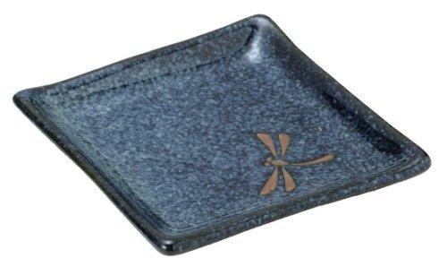 Dragonfly Appetizer Plate Set, Blue ()