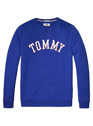 Bleu Blue Essential Sweat Tommy Jeans IqwYCX