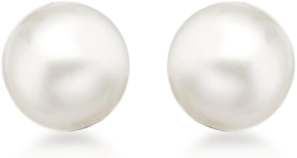 Carissima Gold Pendientes de mujer con perla, 5 mm