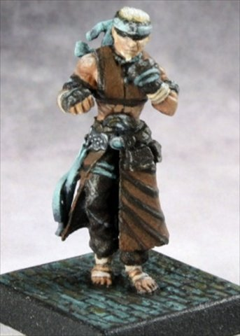 Reaper Miniatures 60152 Pathfinder Series Brotherhood Of The Seal Miniature