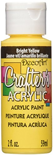 DecoArt Crafters Acrylic 2 Ounce Bright