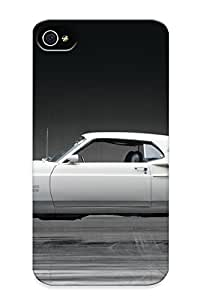 Creatingyourself Sanp On Case Cover Protector For Iphone 4/4s (1969 Mustang Boss 429 Ford Muscle Classic) For Christmas Day's Gift