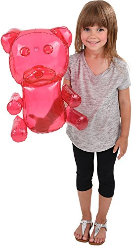 Block Buster Costumes Delicious Candy Large Pink Gummy Bear Animal Inflatable 18