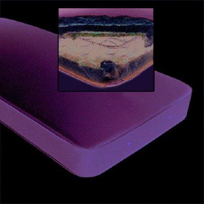 MCK36400500 - Drive Medical Bed Mattress Flex-Ease Firm Support Innerspring 36 X 80 X 6 Inch