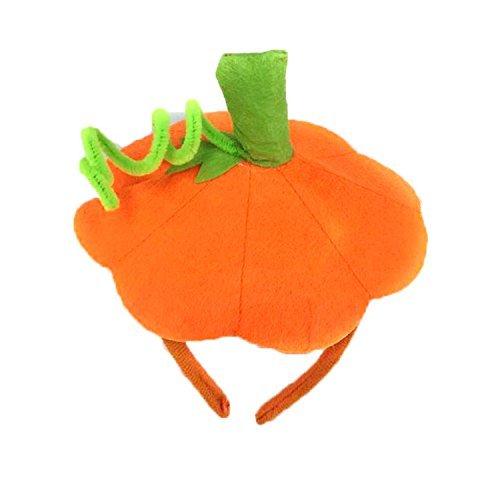 Inxens Halloween Pumpkin Headband Dress Up Headband