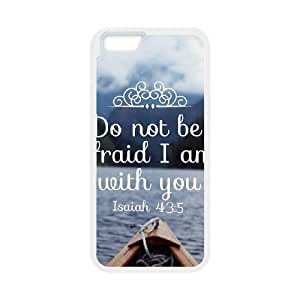 Bible Verses Case For iPhone 6 White Nuktoe579825