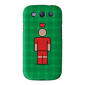China Full Wrap High Quality 3D Printed Case for Samsung? Galaxy S3 by Blunt Football International + FREE Crystal Clear Screen Protector