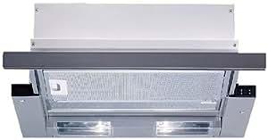 Bosch DHI645HX - Campana Telescópica Dhi 645 Hx Con 3 Potencias De Extracción