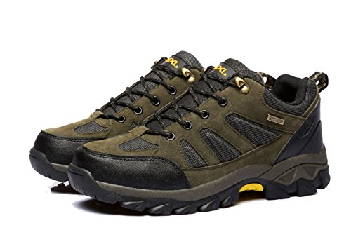 Men's Outdoor Hiking Shoes Anti-skid Footwear Multi-color Multi-size Green IGu8ALFnb