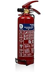 Smartwares 10.018.56 Extintor-1kg The Polvo seco Resistencia al Fuego ABC DUTHC NCP FA1NL