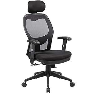Anji Modern Furniture 8018 Bk Fully Adjustable