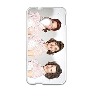 HTC One M7 Cell Phone Case Covers White Viennese Singing Sisters Q6844863