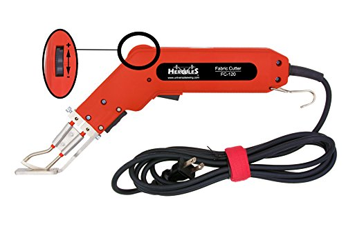 Hercules FC-120 Type-R Handheld Electric Hot Knife and Accessories (FC-120 Heat Cutter) by Hercules