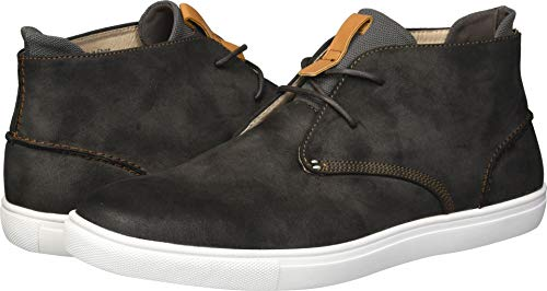 Unlisted by Kenneth Cole Men's Stand Sneaker D, Dark Grey, 9 M US