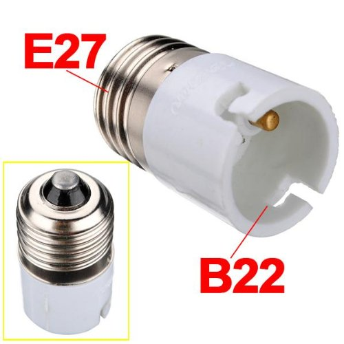 E27 To B22 Fitting Light Lamp