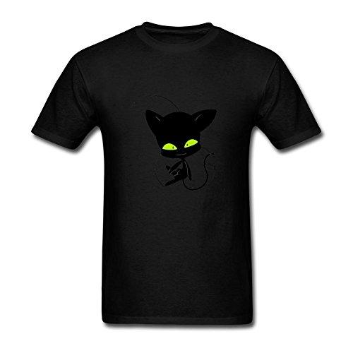 LIOLI Women's Miraculous Ladybug Design Cotton T Shirt