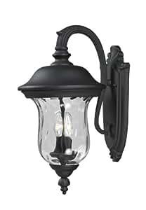 Z-Lite 534M-BK Outdoor Wall Light