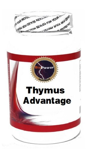 Thymus Advantage 90 Capsules # BioPower Nutrition by BioPower Nutrition