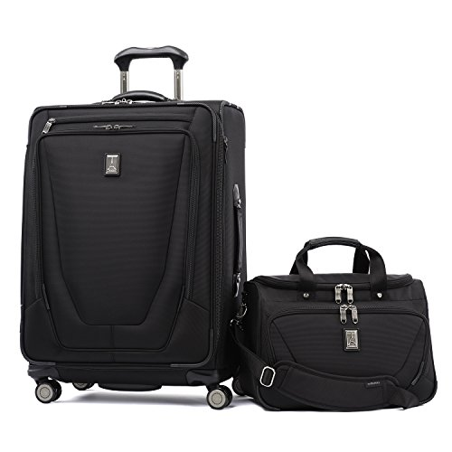 Travelpro Crew 11 2 Piece Set (25'' Spinner and Deluxe Tote) by Travelpro