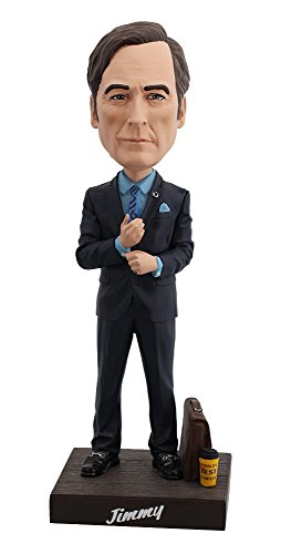 Royal Bobbles Bobblehead of Jimmy McGill from Better Call Saul, Collectible Bobblehead Figurine for $<!--$21.95-->
