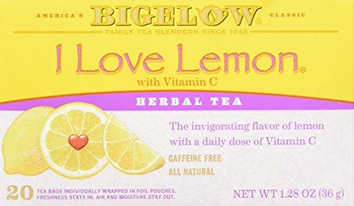 Bigelow I Love Lemon Herb Tea 20 bags (pack of 2)