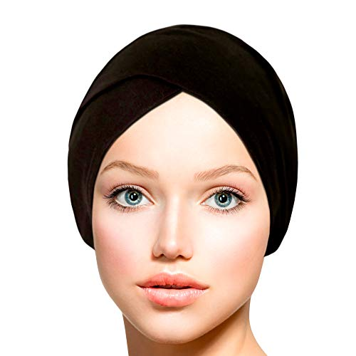 TheHijabStore.com Women's Criss Cross Tube Jersey Hijab Under Scarf Cap Cotton Head Scarf Hat ()