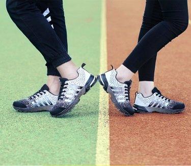 Hardloopschoenen Voor Heren Dames Sportschoenen Sneakers Zwart