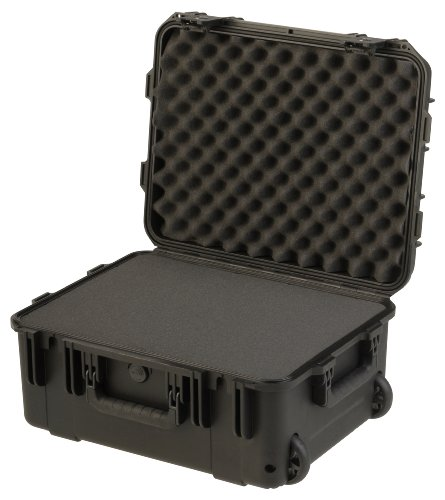 (SKB 3I-1914-8BTC Mil-Std Waterproof Case with Wheels and TSA Latches and Cubed Foam)