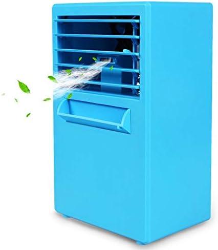 XHMCDZ Ventilador de hielo portátil, refrigerador de aire, mini ...