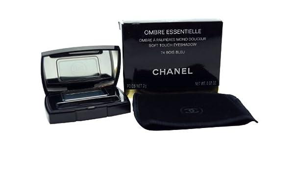 Chanel Ombre Essentielle tacto suave sombra de ojos – 2 G, 74 Bois Bleu: Amazon.es: Belleza