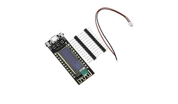Amazon com : Wemos TTGO ESP8266 0 91 Inch OLED Module for