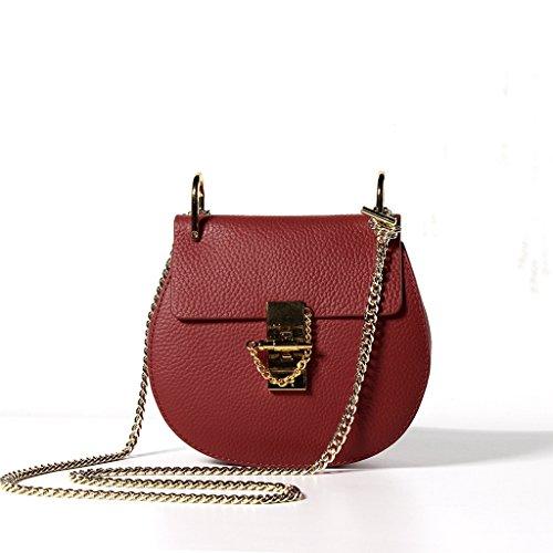 Tipo Sucastle Vintage Donna D'affari Pelle Borsa Spalla Tracolla Messenger 3 In università Bag A viaggio 4 qrq85