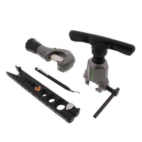 Orbital Flare Kit w/ Tubing Cutter & Deburring Tool by Hilmor Tools