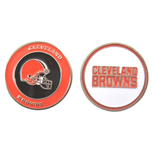 Cleveland Browns Double-Sided Golf Ball Marker Cleveland Browns Ball Marker