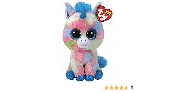 Alaska Stuffed Animals, Amazon Com Ty Beanie Boos 6 Limited Edition Blitz Unicorn Perfect Plush Toys Games