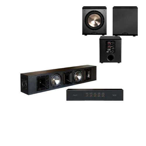 BIC America FH-56 Surround Sound Bar with BIC Acoustech PL-200
