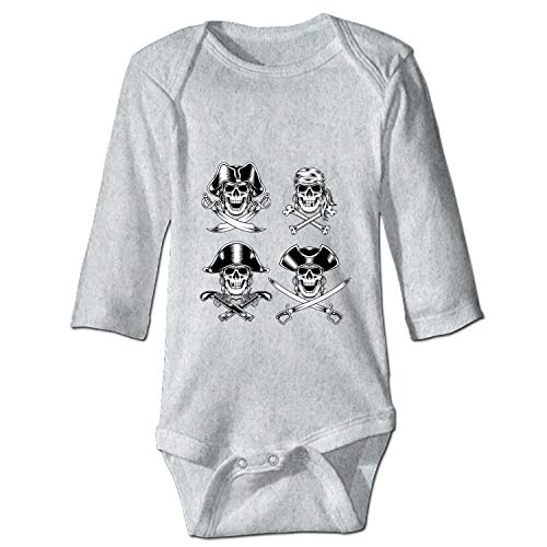 - OHFSCTN Baby Clothing with Men's Pirate Funny Baby Bodysuit