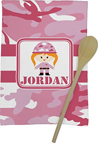 Pink-Camo-Kitchen-Towel-Personalized