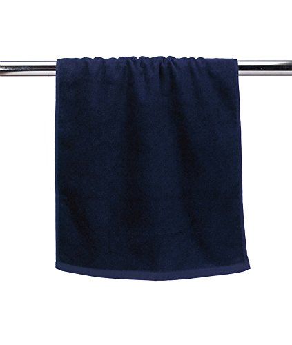 Clementine Deluxe Hemmed Hand Towel T680 -BLACK OS