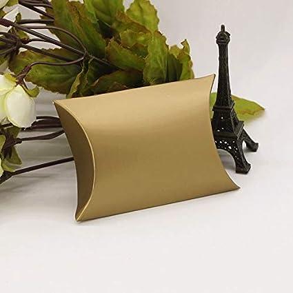 Amazon.com: Bolsa de papel lisa – 100 piezas estilo almohada ...