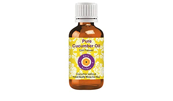 Aceite de pepino Pure Cucumber Oil, Cucumis Sativa, 30 ml: Amazon.es: Belleza