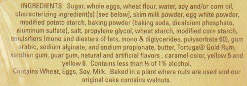 TORTUGA Caribbean Original Rum Cake with Walnuts – 16 oz. - The Perfect Premium Gourmet Gift by TORTUGA (Image #2)